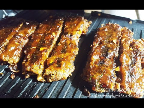 VEGAN JACKFRUIT RIBS | Connie's RAWsome kitchen | SEITAN MEAT – BONUS RECIPE