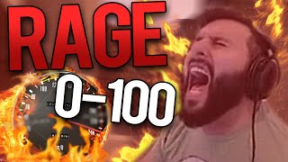 CS:GO - FUNNY FROM 0 TO 100 PRO PLAYER RAGE!