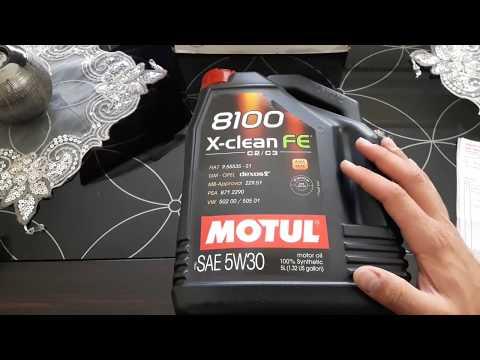 Motul X-Clean FE 5W30 Tavsiye (Türkçe)