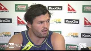 Ashley-Cooper, McGahan Speak With South African Media