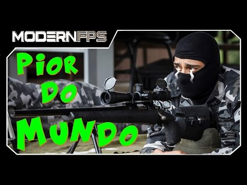 Pior Sniper Do Mundo (Modern FPS)