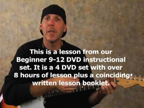 Learn to play the guitar chord changing lesson make open to bar chord changes easy