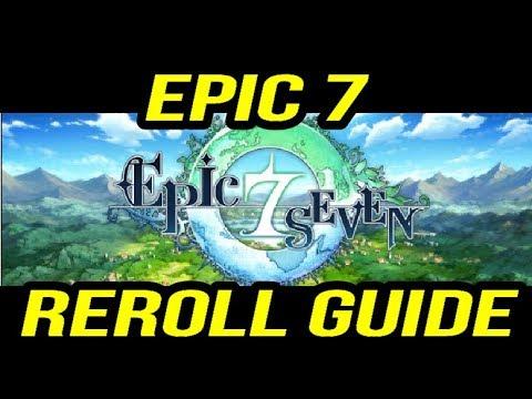 EPIC SEVEN FAST REROLL GUIDE & TIER LIST!   Epic Seven 7 - смотреть