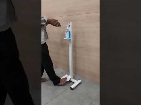 Foot Operated Sanitizers Dispenser