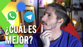 WHATSAPP vs SIGNAL vs TELEGRAM: ¿Cuál CUIDA MÁS tu PRIVACIDAD?