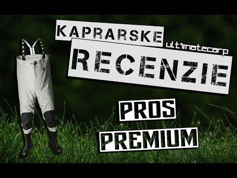 Kaprárske recenzie: Brodiace čižmy PROS Premium