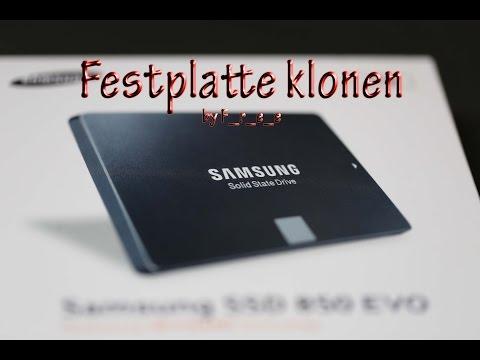 Samsung EVO 850 interne SSD Windows klonen Data Migration