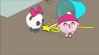 Малышарики - Раскраска для детей - Волшебная палочка