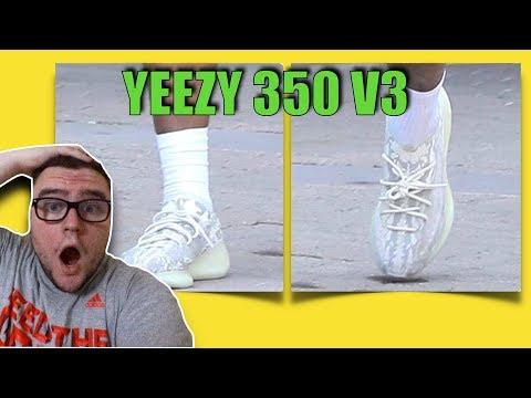 FIRST IMPRESSION: ADIDAS YEEZY BOOST 350 V3 ON FEET!!!