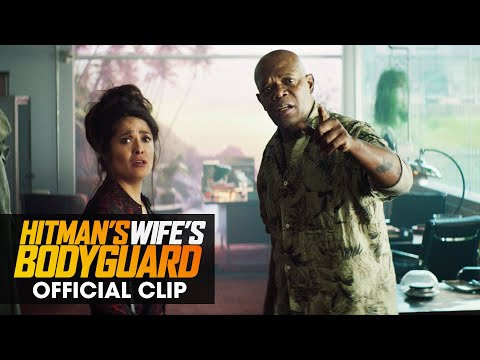 Trailer Lionsgate Movies The Hitman's Wife's Bodyguard (film 2021) Clip officiel «Get Me Any But Michael Bryce»
