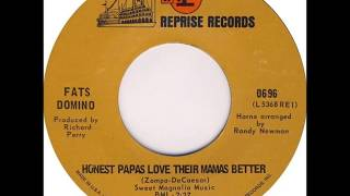 Fats Domino - Honest Papas Love Their Mamas Better - early May 1968