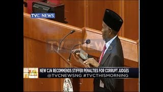New CJN recommends stiffer penalty for corrupt judges