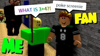 I found a fan as BALDI and THIS HAPPENED..