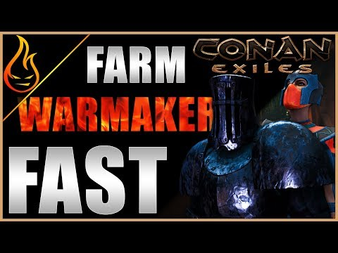 Simple Guide To Farming The Warmaker Conan Exiles 2019