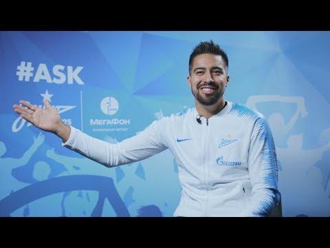 #Ask на «Зенит-ТВ»: Кристиан Нобоа