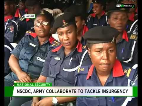 NSCDC, Nigerian Army collaborate to tackle Insurgency