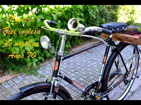Bicicleta antigua de varillas años 70