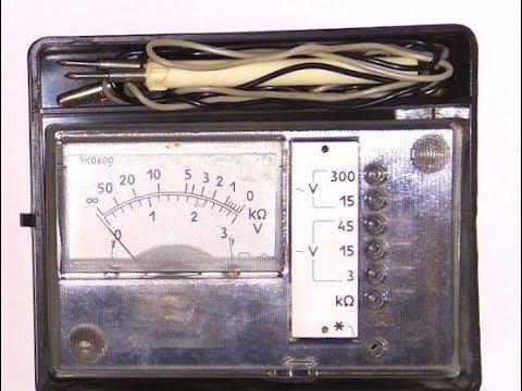Ремонт советского стрелочного мультиметра эко600