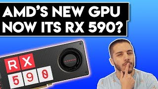 AMD RX 590 LEAKED Benchmarks!