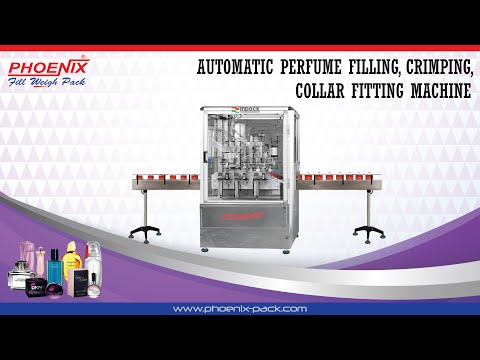 Automatic Perfume Filling Machine