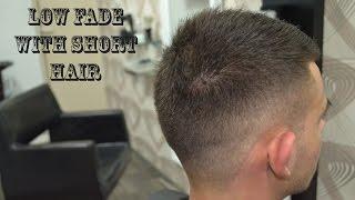 Low Fade With Short Hair - Mens Haircut