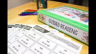 Guided Reading Binder Organization With The Teaching Texan