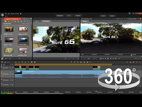 Pinnacle Studio Ultimate Tutorial – 360 degree video editing