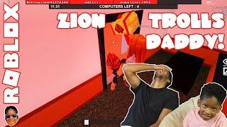 Roblox Flee The Facility – Zion Trolls Daddy!
