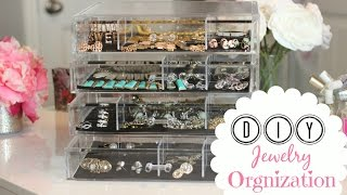 Jewelry Organization Tips & Taking Care Of Costume Jewelry  - MissLizHeart
