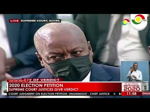 We dismiss the petition as having no merit – SC judgement on 2020 Presidential Election Petition