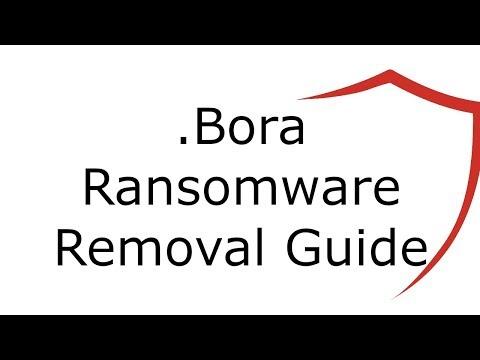 .Bora File Virus Ransomware Removal Guide