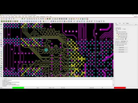 Allegro PCB High Speed 20 minute demo - YouTube