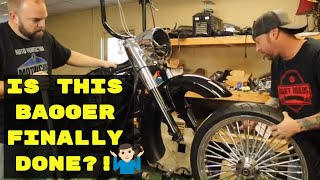 Burnt Harley Turned Custom Bagger ll Part 8 ll Budget Rebuilds