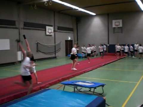 Opendag Elzendaal college Boxmeer 2010 (Gym)
