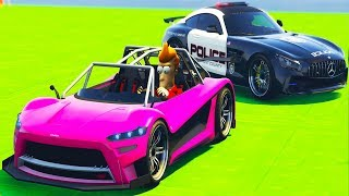 Police Car matching with Race Cars | Video for Kids - Fun Song for kids