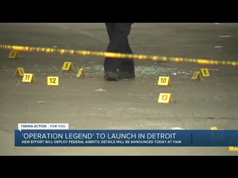 'Operation Legend' to launch in Detroit