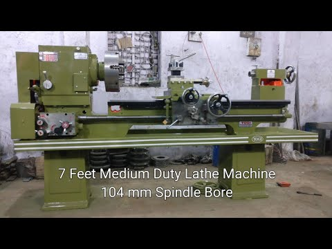 7 Feet Medium Duty Lathe Machine