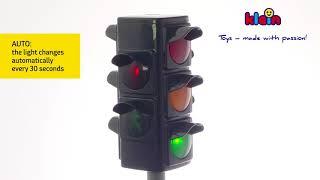 Kelio ženklas didelis šviečiantis šviesoforas | Klein