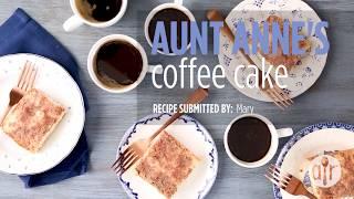 How to Make Aunt Anne's Coffee Cake | Cake Recipes | Allrecipes.com | Kholo.pk