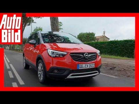Opel Crossland X (2017) - Erste Fahrt im Crossland X/Test/Review