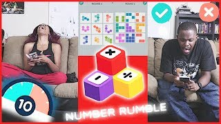 SUPER INTENSE MATH CHALLENGE! - Number Rumble | Mobile Series Ep.21