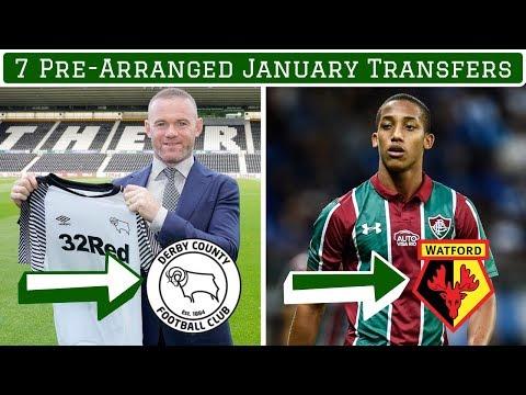 7 Pre-Arranged January Transfers