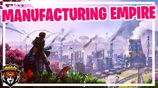 Building a Manufacturing Empire on an Alien Planet in Satisfactory Gameplay Ep 1