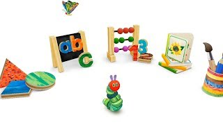 The Very Hungry Caterpillar Play School | Shapes | Alphabet | Numbers