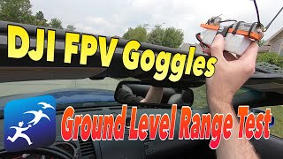 Digital FPV Goggles System – Ground Level Range Test with my 350Z