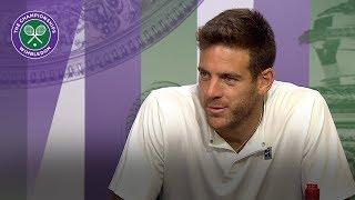 Juan Martin Del Potro ready to enjoy Nadal test | Wimbledon 2018