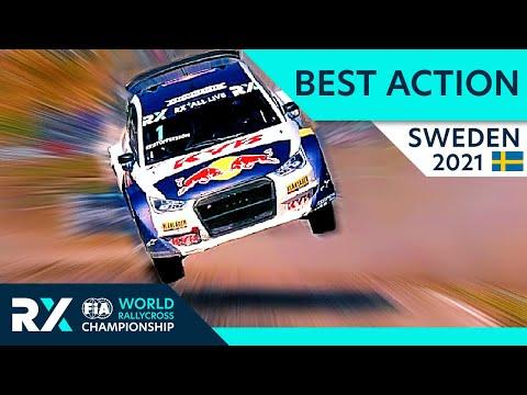 世界ラリークロス 第2戦スウェーデン(ホーリエス)2021年 RXクラスのハイライト動画
