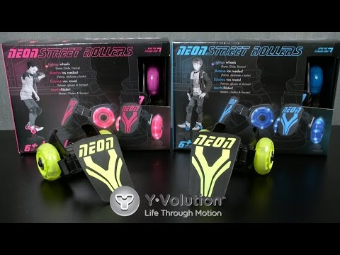 Neon Street Rollers from Yvolution