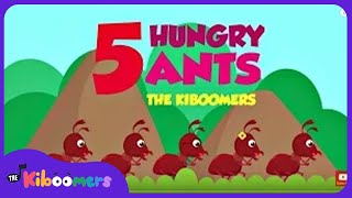 Five Hungry Ants Song for Kids   Picnic Song   Ant Songs for Children   The Kiboomers