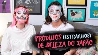 TESTANDO PRODUTOS DE BELEZA DO JAPÃO Feat FOQUINHA   Karen Bachini